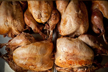 Our freshly roasted turkeys! Cooked in house multiple times per week!