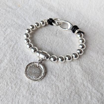 'With Serenity' Ball Bracelet