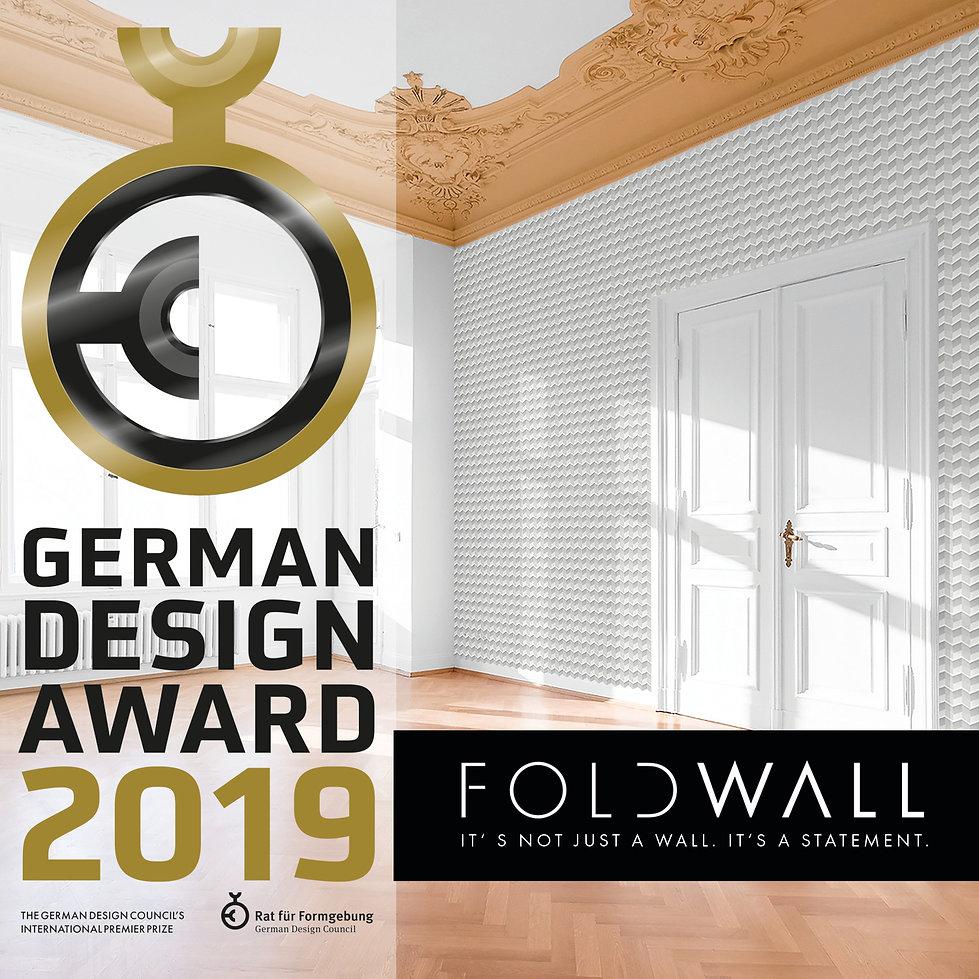 German Design Award Winner 2019