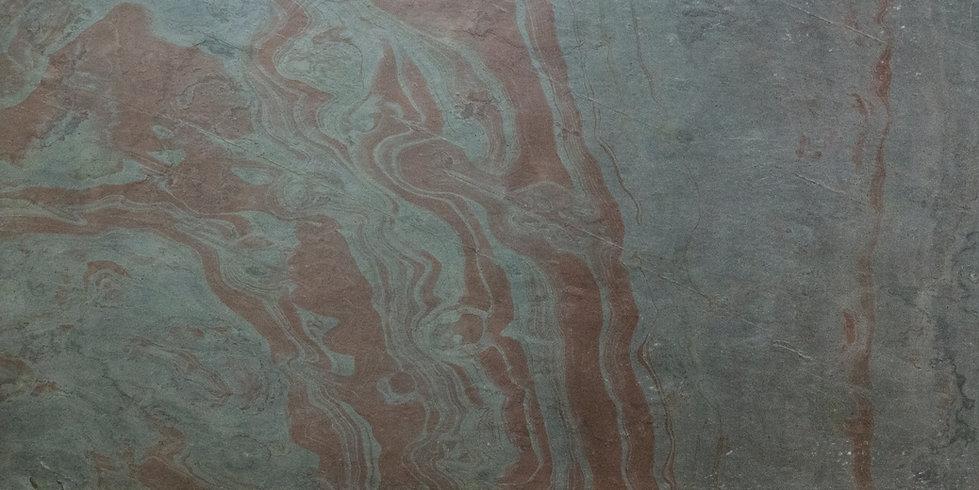Oberflächengestaltung mit Dünnschiefer