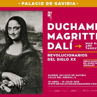 Duchamp Magritte Dali