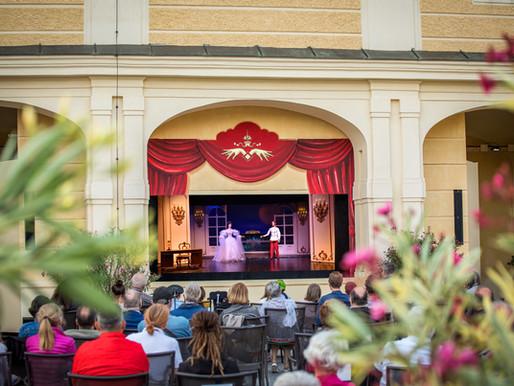 AUS für Open-Air-Musical »Sisis Geheimnis« in Schönbrunn