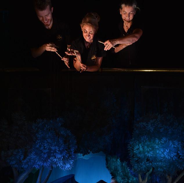 Eine kleine Nachtmusik im Marionettenthe