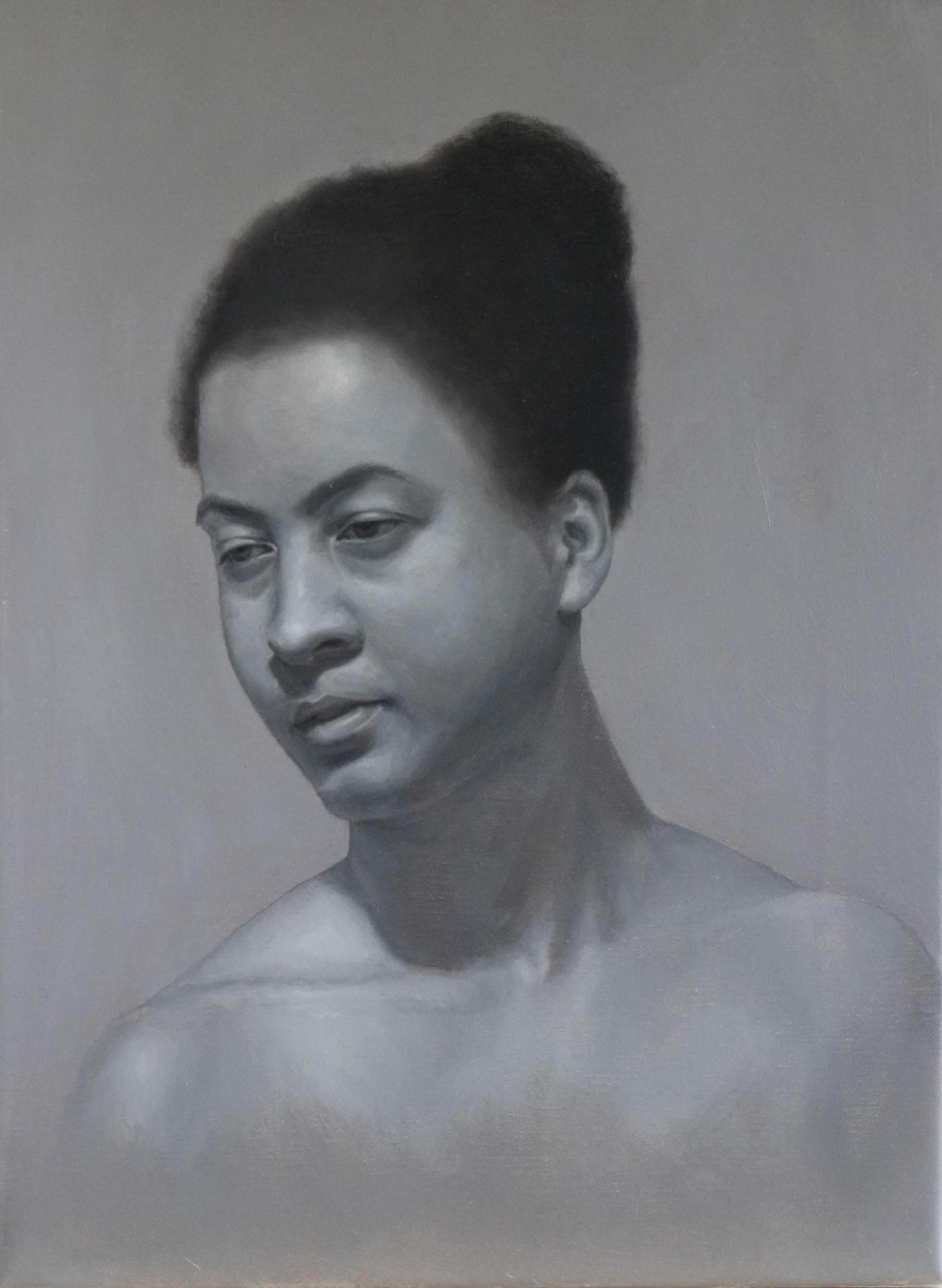 Grisaille study of Vanessa