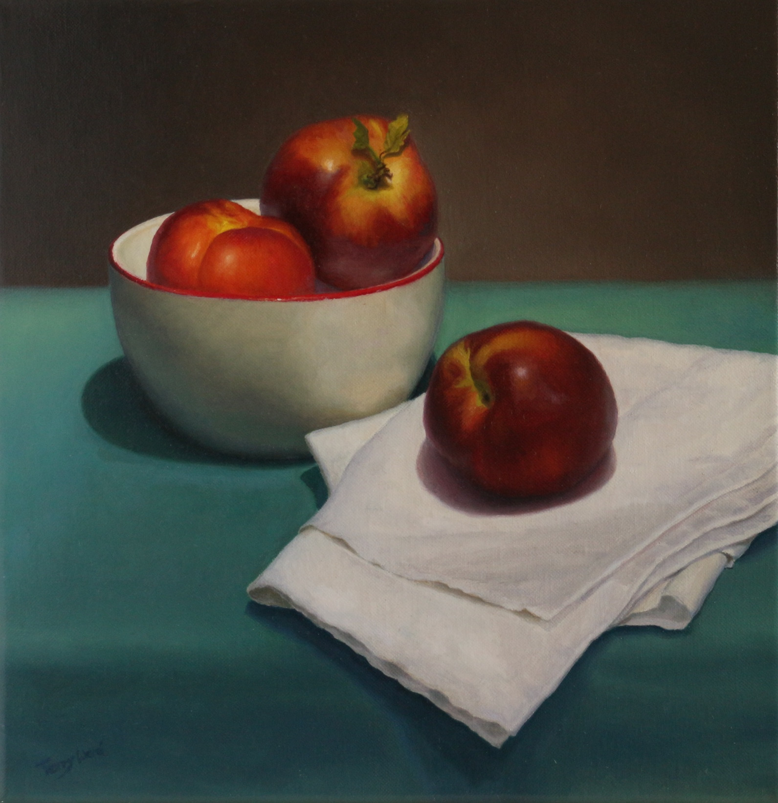 Study of three nectarines