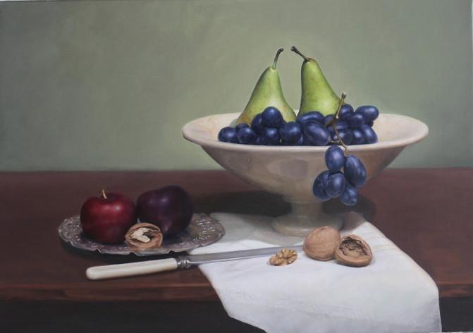 Walnuts and Fruits