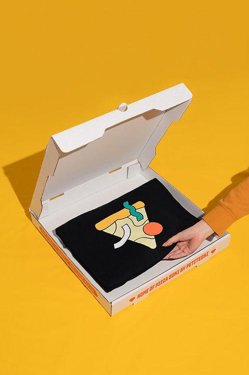 Petiteoki Bites Pizza Ookii Hoodie