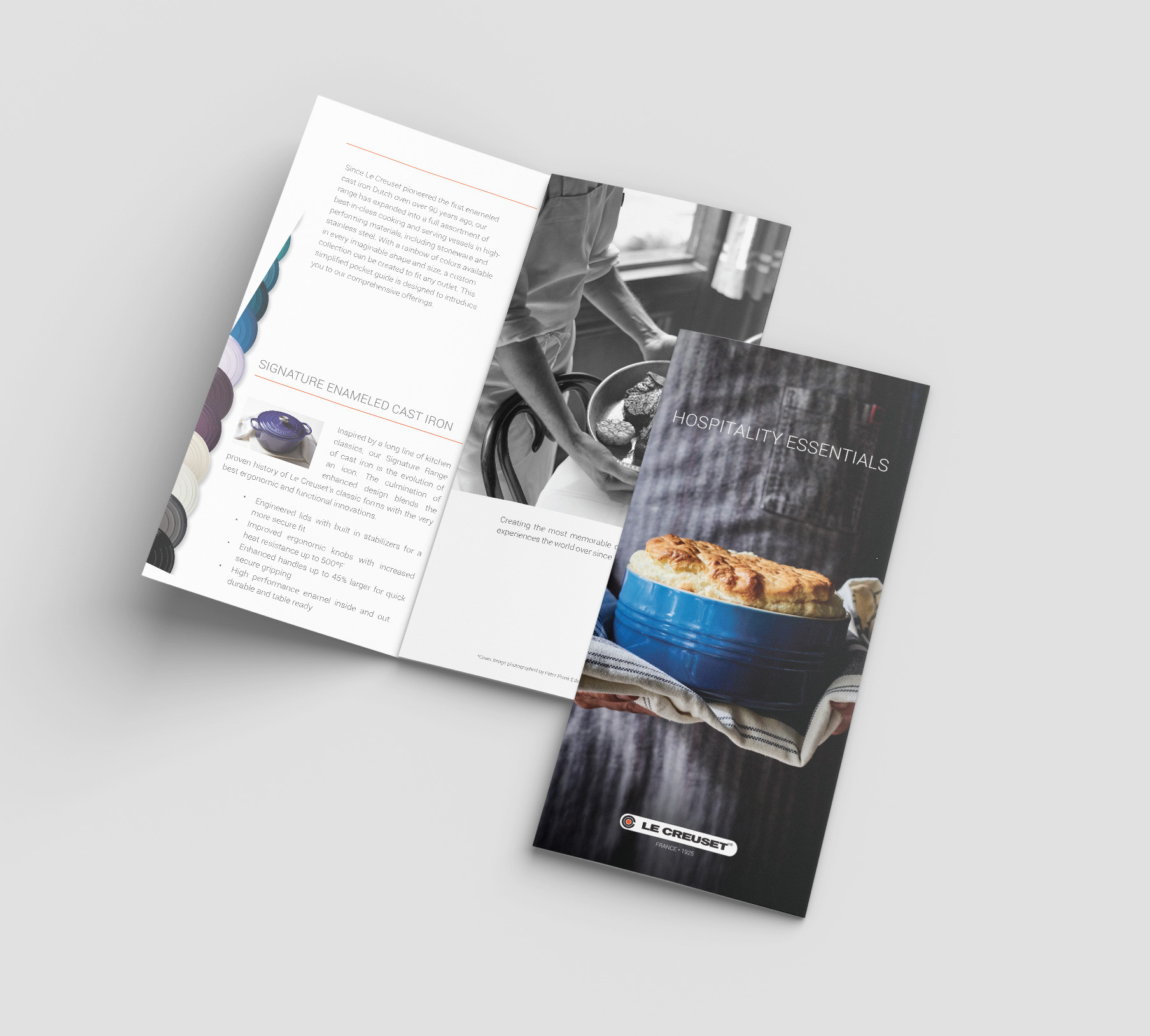 Le Creuset Hospitality Collateral