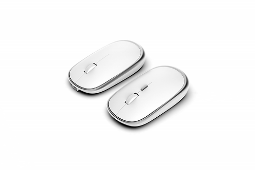 R520 Rechargable Bluetooth Mouse-White