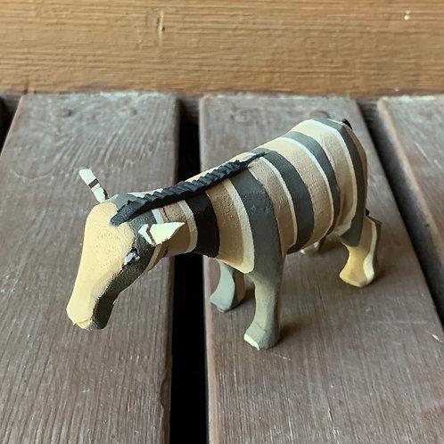 Flip Flop Animal: Zebra #1