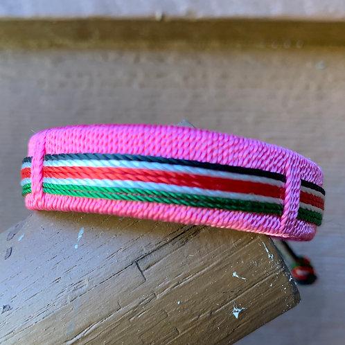 String Bracelet:  Pink
