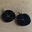 Thumbnail: Beaded Black Earrings