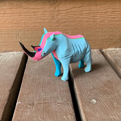 Flip Flop Animals:  Rhino #1