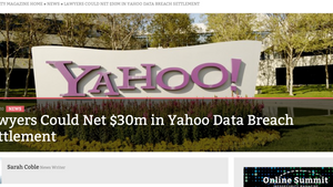 Lawyers Could Net $30M in Yahoo Data Breach Settlement