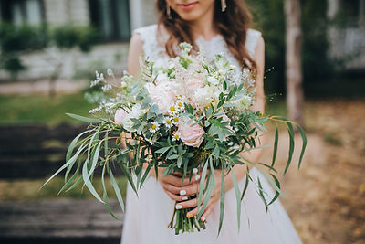Blumenstrauß der Braut