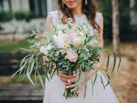 Bouquet de mariée nature