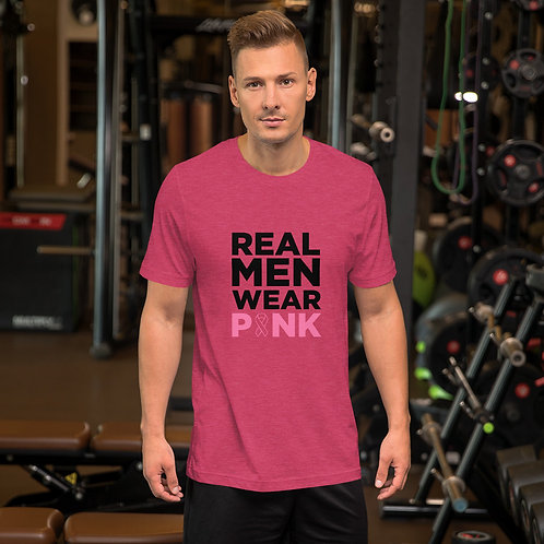 Real Men Wear Pink Tee