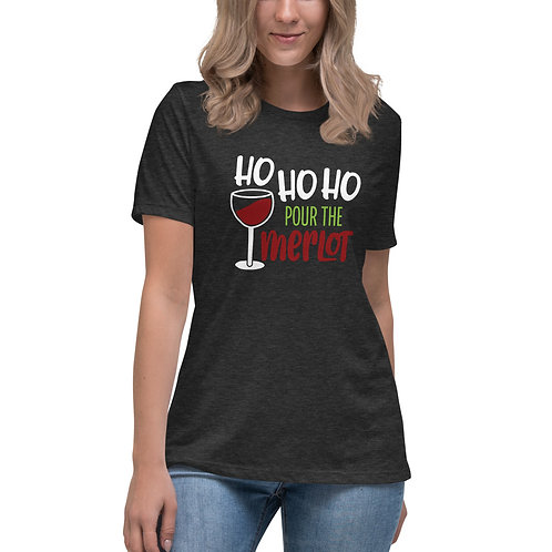 Pour the Merlot Women's Relaxed Tee