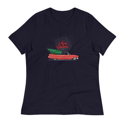Merry Christmas Relaxed Tee