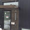 Elite 92 Alu window and Euro Alu entry door in RAL 9004 (Signal Black)