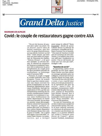 11/04/2021 - LA PROVENCE Grand Delta Justice
