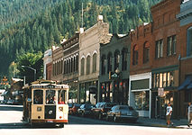 wallace, idaho building, vacation, rental, commercial, festival