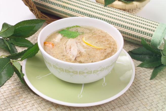 Куриный суп по индийски