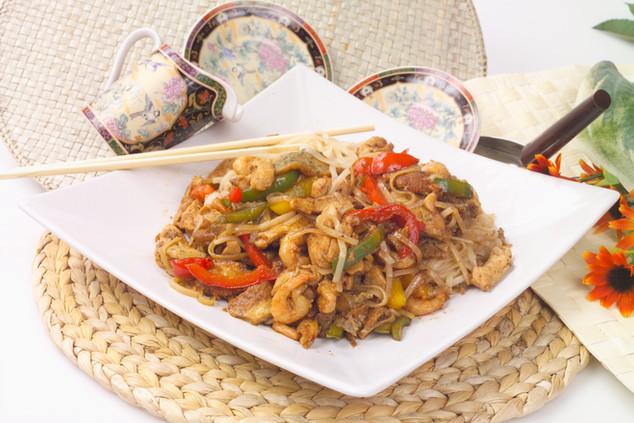Жареная китайская лапша