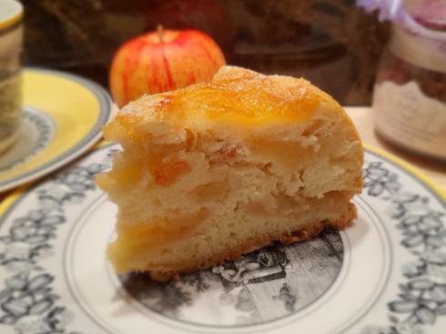 Пирог яблочный многослойный