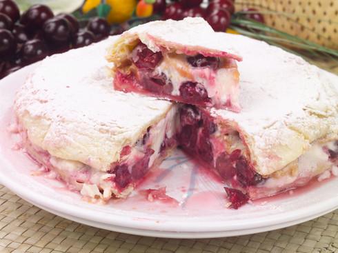 Пирог вишнёвый