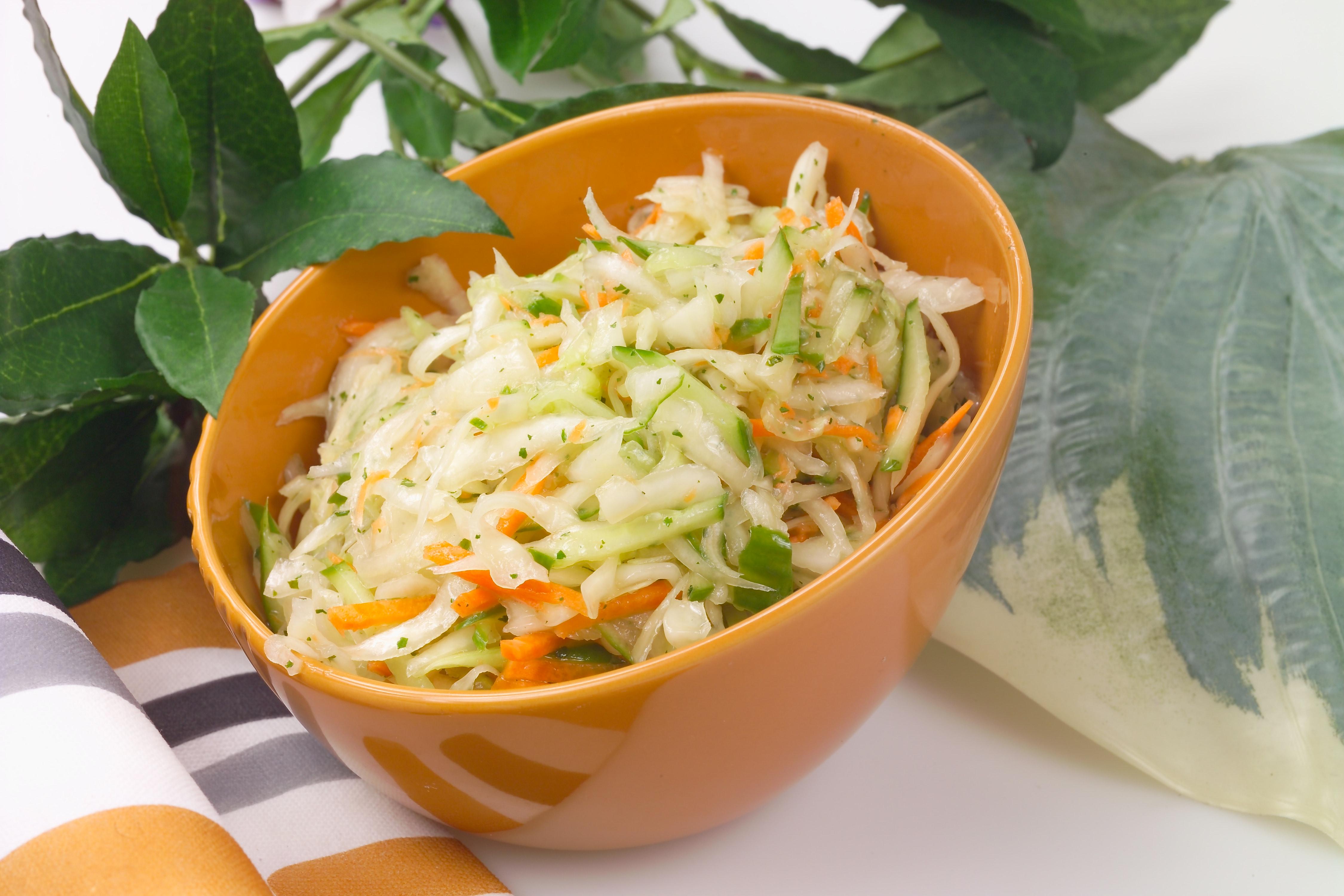 Картинка салат витаминный с капустой, открытка