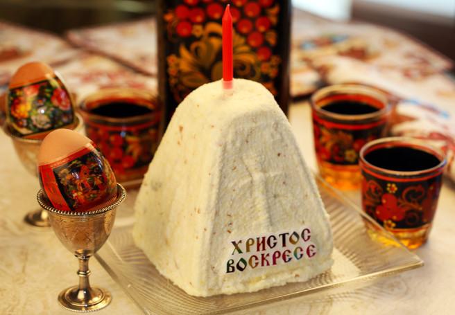 Пасха Царская (старинный рецепт)