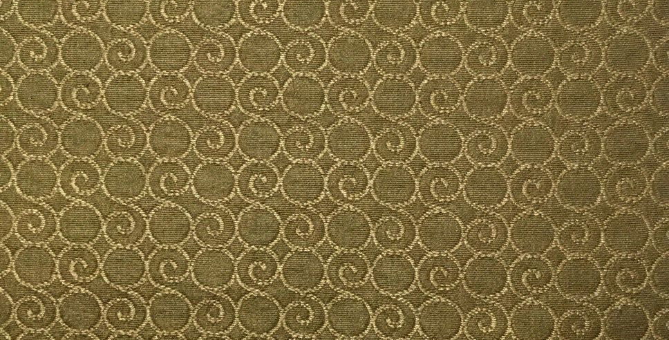 Gold Swirls Fabric