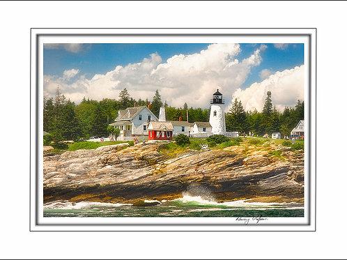 00627 Pemaquid Lighthouse Maine