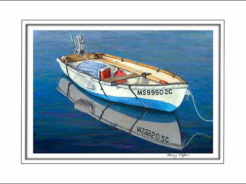 FA00114 Stowed Oars
