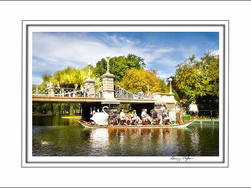 00631 Swan Boats Boston
