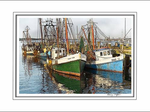 00158 Fishing Boats Provincetown