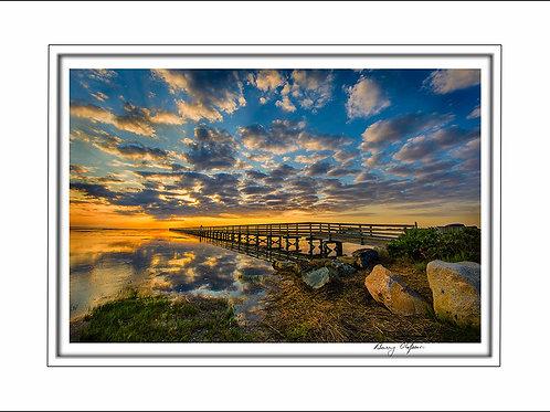 00652 Grey's Beach Boardwalk Yarmouthport