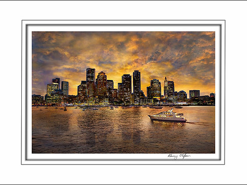 00623 Boston Skyline