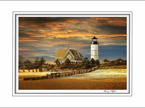 00432 Sandy Neck Lighthouse Cape Cod
