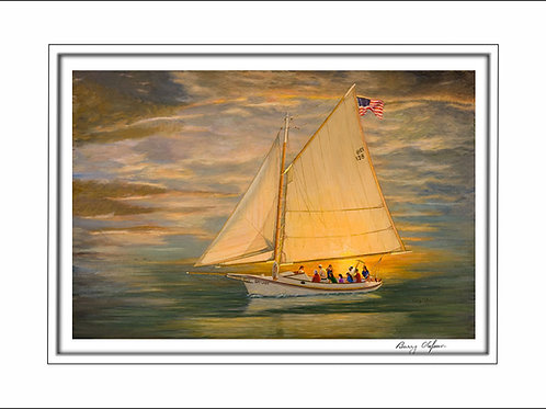 FA00147 Sunset Sail