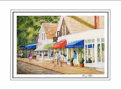 FA00134 Morning Shopping Chatham