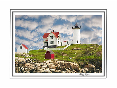 00616 Nubble Light York Maine