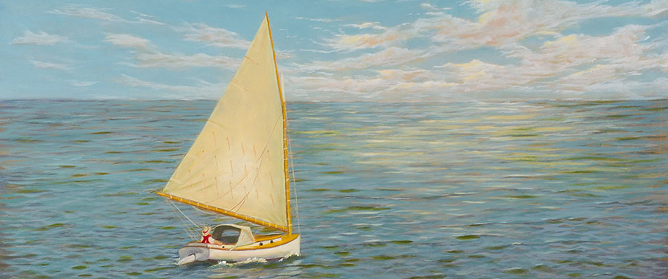 FA00279a-Sailboat-Afternoon-16-X-16-Oil.