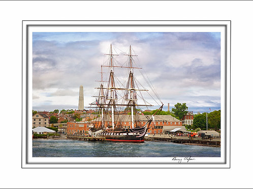 00636 USS Constitution Boston