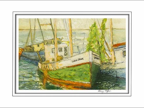 FA00260 Fishing Boats
