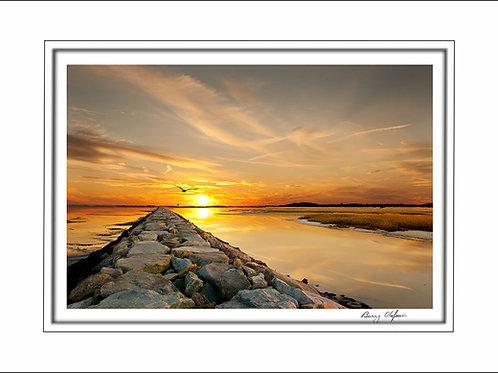 00519 Wood End Sunset Cape Cod