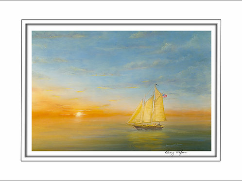 FA00197Sunset Sail