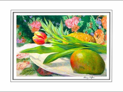 FA00109 Mango, Pineapple & Tulip