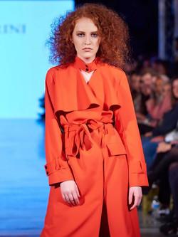 Orange trenchcoat 1